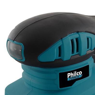 Lixadeira Philco PLO01 Com Bocal Para Sucção de Sujeira 127V
