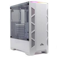 Gabinete Gamer Redragon Starscream Branco ATX Lateral de Vidro Temperado Mid Tower Sem Fan - GC-610W