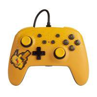 Controle PowerA Pixel Pikachu Edition, Com Fio