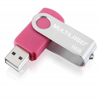 Pen Drive Multilaser Twist 16gb - Pd688