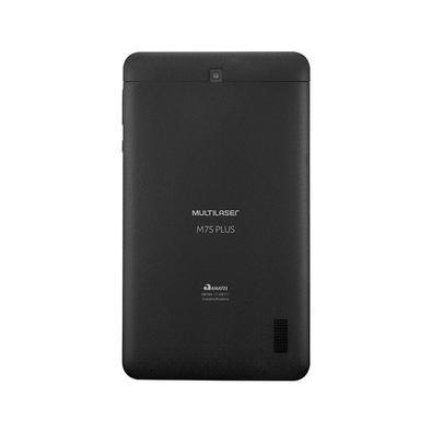 Tablet Multilaser M7S Plus, Bluetooth, Android 8.1, 32GB, 2MP, Tela de 7´, Preto - NB312