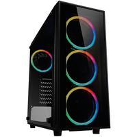 PC Gamer Completo XP Intel Core i5 8GB (Placa de vídeo Geforce GT 1030 2GB) HD 2TB 500W 3green Monitor 21,5 Prata 75Hz