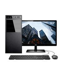 Computador Skill HomeJob Completo Intel Core i5 9400F 9ª Geração, 8GB, DDR4, Monitor 19.5´, SSD 240GB, GeForce GT, ASUS