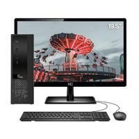 Computador Completo 3green Exclusive Intel Core i7 6GB com SSD 60GB e HD 2TB Wifi Dual Band Monitor 19,5´´ HDMI PC CPU
