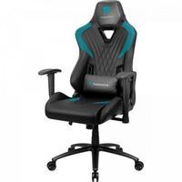 Cadeira Gamer ThunderX3 DC3, Suporta até 150Kg, Preta/Ciano