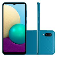 Smartphone Samsung Galaxy A02 32GB, Quad Core,  13MP, Tela 6,5