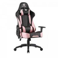 Cadeira Gamer Cruiser Fortrek, Suporta até 135Kg, Preto/Rosa