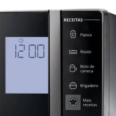 Microondas Brastemp, 32 Litros, Painel Integrado, Inox, 110V - Bms45crana