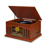 Vitrola Raveo Stadio Toca Disco e Toca CD, Bluetooth, Radio