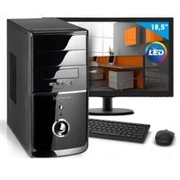 "Computador Smart Pc Intel Core I3, 8GB, HD 1TB + Monitor 18,5""  - 80193"