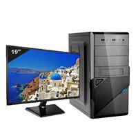 Computador Icc Iv2540d3m19 Intel Core I5 3.20 Ghz 4gb Hd 320gb Dvdrw Hdmi Full Hd Monitor Led 195