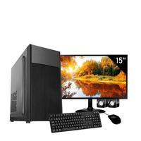 Computador Completo Corporate I3 8gb Hd 1tb Dvdrw Windows 10 Monitor 15