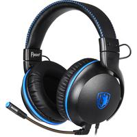 Fone Headset Gamer Sades Fpower, 50mm, Xbox One, Ps4, Vr, Cel, Pc