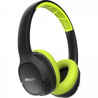 Fone de Ouvido Bluetooth Philips, Verde/Preto - Tash402lf-00