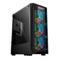 Computador Gamer Fácil By Asus Intel Core i3 10100f, 8GB, GTX 1050Ti 4GB, HD 1TB, Fonte 500W