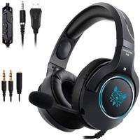 Headset Gamer Profissional Onikuma K9, Preto