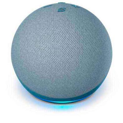 Echo Dot Quarta Geração Smart Speaker Amazon Com Alexa Azul