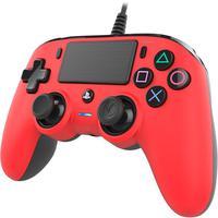 Controle Nacon Wired Compact Controller Red (com Fio, Vermelho) - Ps4 E Pc