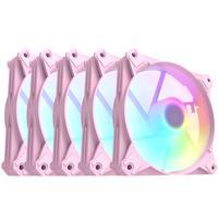 Cooler Para Gabinete Rosa Motospeed Hyrax Hcl605p 5 In 1 A-rgb