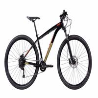 "Bicicleta Mtb Caloi Moab Aro 29 - 2021 - Microshift - Quadro 19"" - 18 Velocidades - Preto"