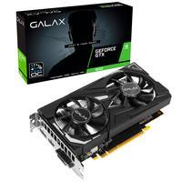 Placa de Vídeo Galax NVIDIA GeForce GTX 1650 EX (1-Click OC), 4GB, GDDR6 - 65SQL8DS66E6