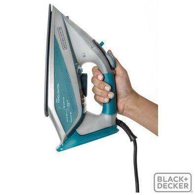 Ferro A Vapor Black & Decker, Com 05 Níveis De Temperatura, Auto Stop E Função Corta Pingos - Aj4000 - 110v