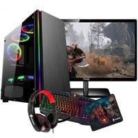 Pc Gamer Intel I5 3.1+memória Ram 16gb +1050 Ti 4gb+hd 1tb