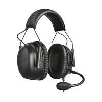 Headset Gamer Trust Wayman Pro Gxt 444, Drivers 50 mm, com Fio, Preto