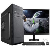 """Computador Completo Fácil Intel Core I5 3470s (terceira Geração) 8gb Hd 500gb Monitor 19"""" Hdmi Led Teclado E Mouse"""