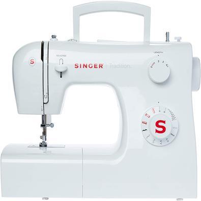 Máquina De Costura Singer Tradition 2250 Branca Uso Doméstico 110v