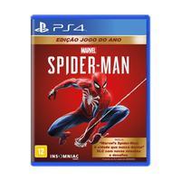 Jogo Marvel´s Spider-man (edição Jogo Do Ano) - Ps4