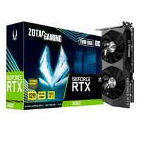 Placa De Vídeo, Zotac Gaming Geforce Rtx 3060, Twin Edge Oc 15 Gbps, 12gb, Gddr6 Ray Tracing - Zt-a30600h-10m