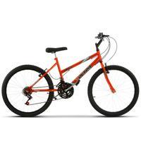 Bicicleta Ultra Aro 24 Feminina Freio V Break Chrome Line