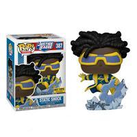 Boneco Funko Pop Heroes Justice League Static Shock 387