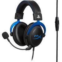 Headset Gamer HyperX Cloud Blue PS4 Black/Blue HX-HSCLS-BL/AM