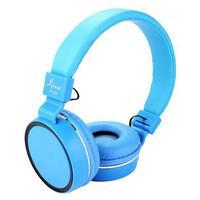 Fone De Ouvido Com Fio Knup Kp 421 Azul