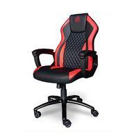 Cadeira Gamer Elements, Elemental Ignis, Vermelha e Preto