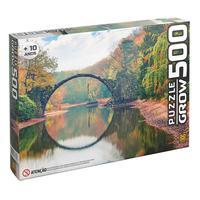 Puzzle 500 Peças Ponte Espelhada