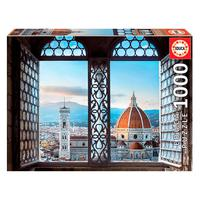 Puzzle 1000 Peças Vista De Florência - Educa - Importado Puzzle 1000 Peças Vista De Florência - Importado
