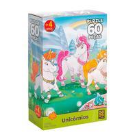 Puzzle 60 Peças Unicórnios