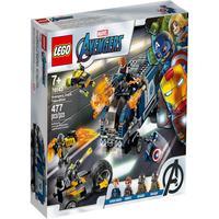 Lego Marvel - Caminhão Dos Vingadores, Triciclo, Drone E 4 Personagens - 76143