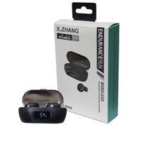 Fone De Ouvido Headset Bluetooth 5.0 Par Sem Fio Xz-b098 Xz-b098 Preto