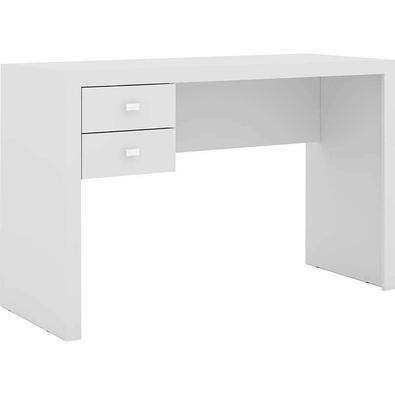 Mesa De Computador C/ 2 Gavetas Me4123 - Tecno Mobili - Branco