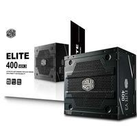 Fonte 400W Cooler Master ELITE 400 V3 PFC Ativo Sem Cabo Silenciosa Bivolt - MPW-4001-ACAAN1-WO