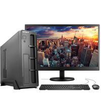 "Computador Completo Fácil Slim Intel 4GB, SSD 120GB, c/ Monitor 19"" HDMI Led, Teclado e Mouse"