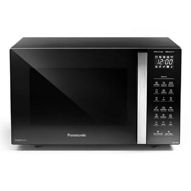 Micro-ondas Panasonic Tecnologia Dupla Refeição Preto 30 Litros 110v Nn-gt68lbrun