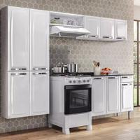 Cozinha Compacta Itatiaia Rose com Balcão 105