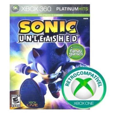 Jogo Sonic Unleashed - Xbox Series X - Sega