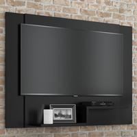 Painel Para Tv Enzo Plus 120x90 Cm - Preto - Rpm Móveis