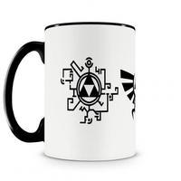 Caneca Legend Of Zelda Icones Preta